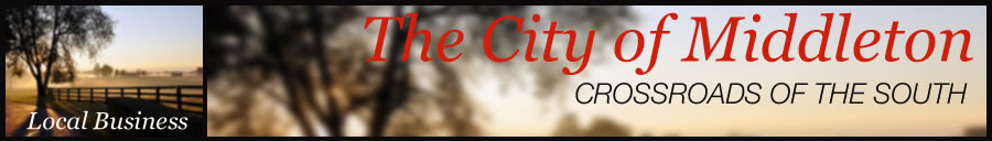 City of Middleton Local Business page header